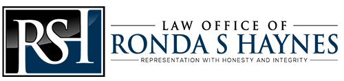 Divorce Attorney | Azle Texas | Law Office Of Ronda S Haynes Logo