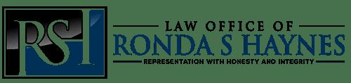 Law Office Of Ronda S Haynes Logo