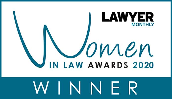 Lawyer Monthly Women In Law Award