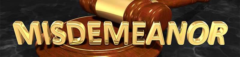 Criminal Misdemeanor In Texas